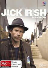 JACK IRISH : SEASON 1 (Guy Pearce)  -  DVD - UK Compatible -Sealed