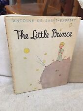 """1943 First Edition Book """"The Little Prince""""    with Dust Jacket    Saint-Exupery"""