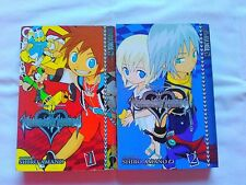 Kingdom Hearts Chain of Memories Manga Complete Collection (2 volumes)