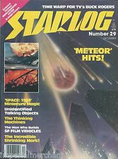 Starlog magazine Meteor Space 1999 Mork and Mindy Buck Rogers Lew Bowie