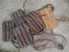 Thompson MP Magazintasche Leder Russisch / oder Jugo II MP40 Welt Krieg pouch