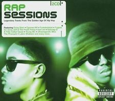 Rap Sessions Various Artists 2 Disc CD Import New