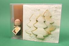 Raumduft + Servietten Geschenkset Weihnachten Traumduft ZuckerbäumeTernberger
