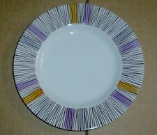 Barratts Delphatic White Tableware Stripes Side Plate Vintage 1950's