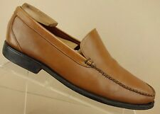 Cole Haan Brown Leather Moc Apron Toe Casual Loafers Dress Shoes Men's 8.5 M