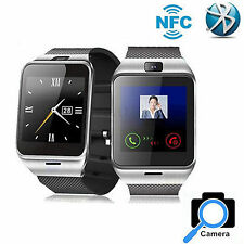 Bluetooth Smart Watch W Camera Support SIM For Android Samsung Note 5 4 3 Edge