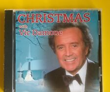 Vic Damone Christmas With CD NEW Silver Bells/Joy To The World/Silent Night+