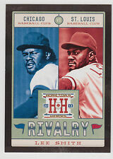 LEE SMITH 2013 Panini Hometown Heroes Rivalry Black Card #R14 Cubs Cardinals