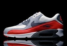 Nike Air Max 90 Essential Gym Red Wolf Grey UK 9.5 US 10.5 1 93 95 97 98 Ultra