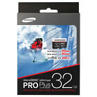 NEW Samsung MicroSDHC 32GB Pro Plus Memory Card with Adapter