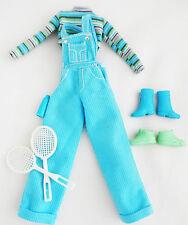 LOT de vêtement accessoire BARBIE vintage Mattel chaussure tennis salopette