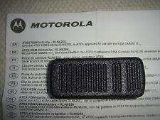 MOTOROLA RLN6258A GP340Ex ATEX REMOTE SPEAKER MIC CLIP (Fits GMMN1111 RSM)