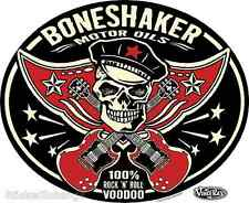 Boneshaker Motor Oils Sticker Decal Art Vince Ray VR50