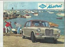BMC RILEY KESTREL SALES BROCHURE FEBRUARY 1966