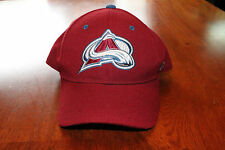 Unisex Colorado Avalanche Authentic Zephyr Burgundy Hockey Cap Hat Fitted 6 7/8