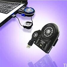 TIAU Mini Vacuum USB Cooler Air Extracting Cooling Fan for Notebook Laptop