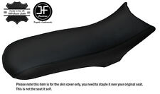 BLACK STITCH CUSTOM FITS CCM 604 RS DUAL LEATHER SEAT COVER ONLY