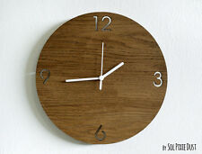 Wooden Simply Circle - Wooden Wall Clock