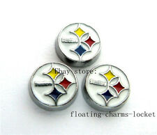 10pcs Round Floating charms For Glass living memory Locket Free shipping FC711