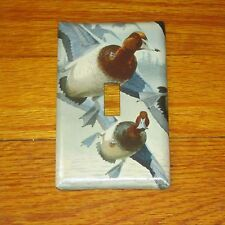 NATIVE DUCK DUCKS WILD GAME BIRD LIGHT SWITCH COVER PLATE #2