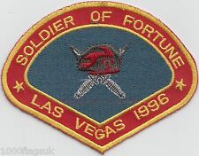 Soldier of Fortune Weapon Suppliers Las Vegas 1996 Embroidered Crest Badge