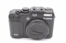 Canon PowerShot G12 10MP 2.8''Screen 5x Zoom Digital Camera w/ Accessories