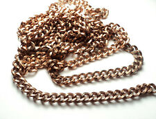 6 FT -  COPPER TONE STEEL TWISTED OPEN LINK CHAIN CHAIN - co2