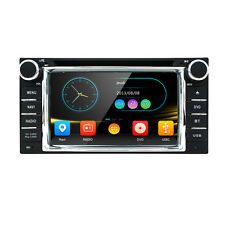 In dash 2Din Car Player DVD Stereo GPS Nav For Toyota Highlander Sequoia Tundra