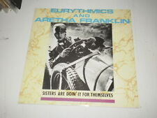 """Eurythmics And Aretha Franklin – Sisters Are Doin' It For Themselves - 12"""" MAXI"""