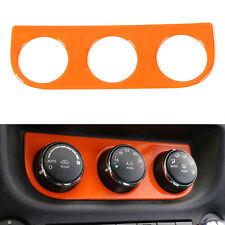 A/C Air Condition Panel Control Knob Cover Trim For Jeep Wrangler 2011-16