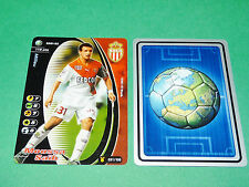FOOTBALL CARD WIZARDS 2001-2002 MOUSSA SAÏB AS MONACO LOUIS II PANINI