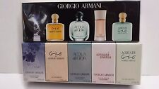 Giorgio Armani collection 5 PC  Gift set mini for women EDT and EDP SEE DETAILS