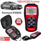 KW808 Car Diagnostic Code Scan Reader CAN EOBD OBD2 KONNWEI Engine Reset Tool UK