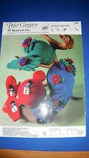 Peter Gregory Child's Gloves, Mittens & Hats Knitting Pattern 736