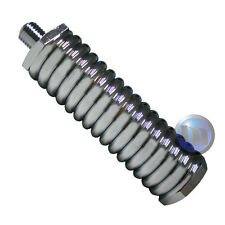 """Medium Duty Spring for Whip Antenna upto 5ft S/Steel 5/16""""x26 High Quality"""