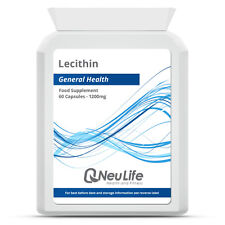 Lecithin - 1200mg - 60 Capsules
