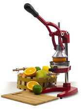 Heavy Duty Press Orange Comercial Manual Citrus Juicer Fruit Juice Extractor Red