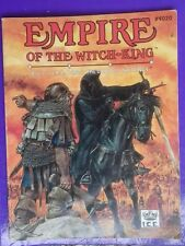 Empire of the witch king middle-earth MERP fortress adventure RPG  I.C.E no maps