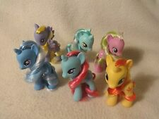 My Little Pony lot Trixie Sunset Shimmer Snowcatcher Flower wishes brushable