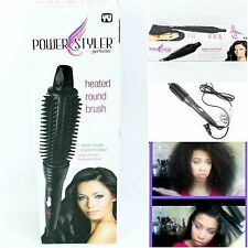 Perfecter Fusion Hair Styler Calista Pro Grip Hot Round Brush Heated Ceramic New