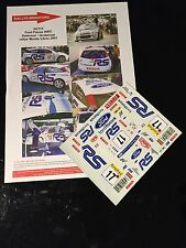 DECALS 1/24 FORD FOCUS DELECOUR RALLYE MONTE CARLO 2001 RALLY WRC TAMIYA