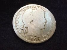 1895-O BARBER QUARTER NICE KEY DATE COIN---FREE SHIPPING!!  #110