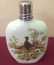Rauschert Porcelain Duck Flask Bottle West Germany Bavarian Village