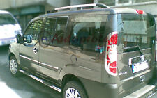 FIAT Dobl 2 Van Alluminio Tetto Rack Barra Binario Set + SWB 2010 >