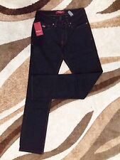 BNWT Men's Black Pants Salvatore Ferragamo Jeans Made in Italy Size 38 PRP 911$