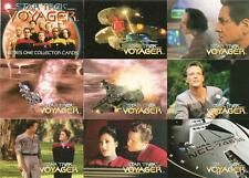 Star Trek Voyager Series 1 Full 98 Card Base Set + T1 + P1 Cards from SkyBox