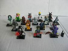 Lego 71010; Monsters Minifiguren Serie 14 - komplett, 16 Figuren