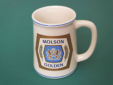 FRANKLIN MINT PORCELAIN MOLSON USA LAGER BEER COLLECTORS TANKARD -  BREWERIES