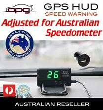 PLUG & PLAY HEAD-UP DISPLAY HUD INTERNAL GPS 12 VOLT DIGITAL LED SPEED WARNING