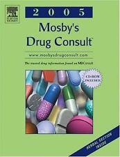 Mosby's Drug Consult 2005 (Mosby's Drug Consult)-ExLibrary